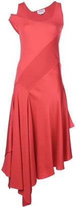 Monse asymmetric midi dress