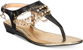 Thalia Sodi Zella Demi-Wedge Flat Sandals, Only at Macy's