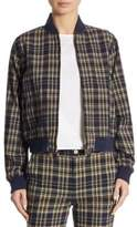 Polo Ralph Lauren Reversible Plaid Baseball Cotton Jacket