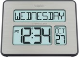 La Crosse Technology Lacrosse Technology LaCrosse Technology Atomic Digital Clock with Backlight, Full Calendar & Temperature
