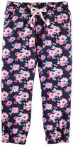 Osh Kosh Little Girls' Print Woven Joggers (Toddler/Kid)