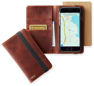 Mark And Graham Pigskin Leather iPhone 6 Wallet