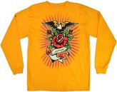 Ed Hardy Boys Long Sleeve T Shirt Eagle and Roses