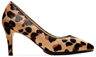 Cole Haan Grand Ambition Leopard-Print Calf Hair Pumps