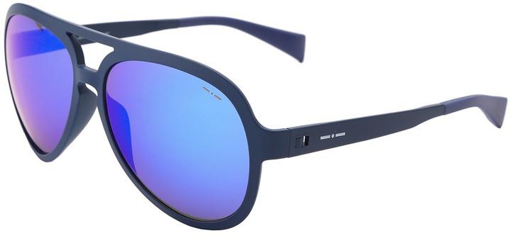 Italia Independent 0115.022.000 (Blue) Fashion Sunglasses