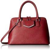 Calvin Klein On My Corner Saffiano LT Satchel Top-Handle Bag