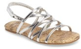 Kenneth Cole New York Girl's Daylo Glad Strappy Sandal