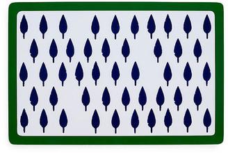 Joanna Buchanan Set of 2 Tree Place Mats - Blue/Green
