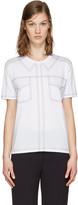 Stella McCartney White Topstitched T-Shirt