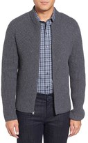 Zachary Prell Men's Zip Wool & Cashmere Cardigan