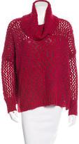 Alice + Olivia Wool-Blend Turtleneck Sweater