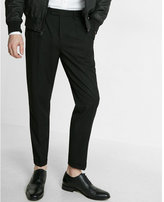 Express Skinny Innovator Pleated Dress Pant