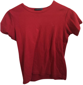 Brandy Melville Red Polyester Tops