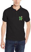 Wyclif Rae Mens Popular Hockey Minnesota North Stars Logo Polo Shirts
