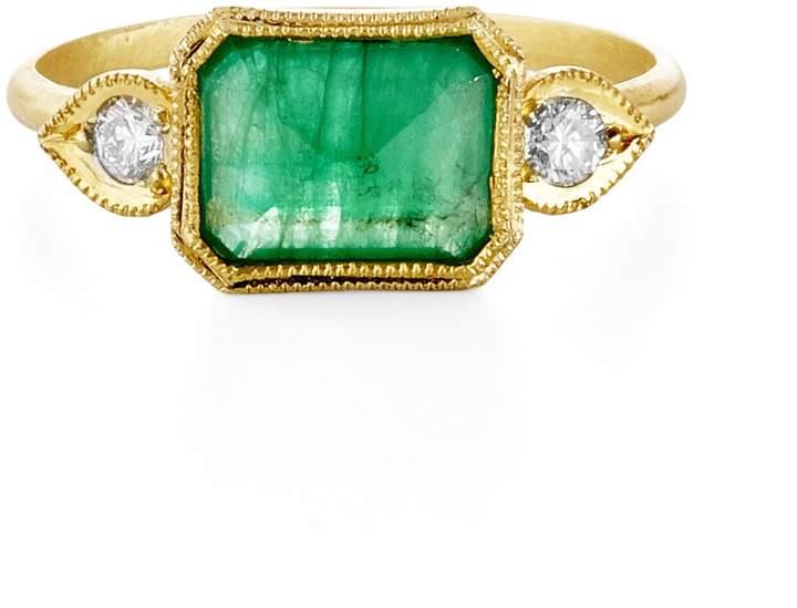 Ila Green Paneli Ring