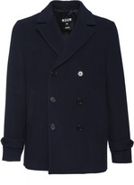 MSGM Double Breasted Pea Coat
