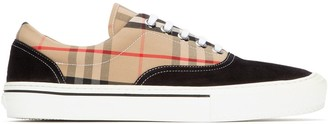 Burberry Wilson Vintage Check Sneakers