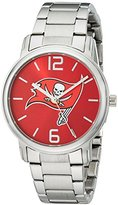 Game Time NFL Women's 10027047 All Around Analog Display Japanese Quartz Silver Watch