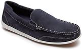 Rockport Bennett Lane 4 Leather Slip-on Shoes, New Dress Blues