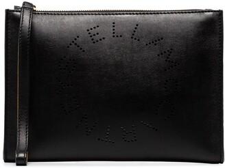 Stella McCartney Stella Logo clutch bag