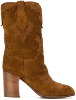 Casadei western style boots - women - Leather/Suede - 37.5