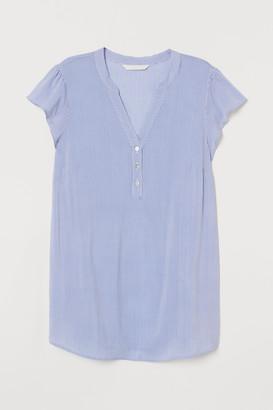 H&M MAMA Patterned Blouse