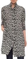 Akris Bag Print Silk Jersey Dress