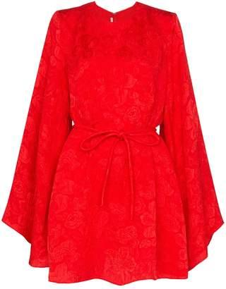 Stella McCartney belted wide-sleeve mini dress