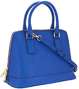 Marc Fisher As Is Eleanor Leather Zip Top Dome Satchel