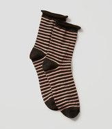 LOFT Sparkle Crew Socks