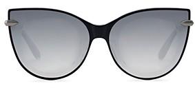 Krewe Women's Laveau Mirrored Cat Eye Sunglasses, 62mm