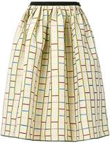 Antonio Marras patterned full midi skirt