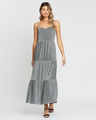 Atmos & Here Emily Ruched Maxi Dress