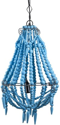 Emac & Lawton Beaded Chandelier Small Turquoise