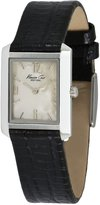 Kenneth Cole New York Kenneth Cole Black Lizard Strap Mother-of-Pearl Dial Women's Watch #KC2567