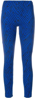 Emanuel Ungaro Pre Owned Geometric Print Leggings