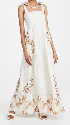 Agua Bendita Helina Sunbaze Maxi Dress