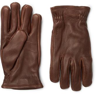 Hestra Sarna Full-Grain Leather Gloves