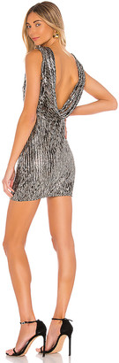 h:ours Rift Mini Dress