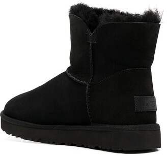 UGG Shearling-Lined Ankle Boots
