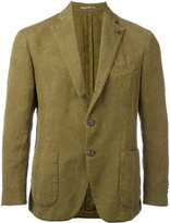 Gabriele Pasini - patch pocket blazer - men - Cotton/Linen/Flax/Polyester - 46
