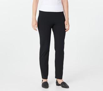 Logo by Lori Goldstein Legacy Knit Slim Leg Pant w/ Front Seam