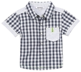 3 Pommes Check Short-Sleeve Shirt