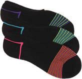 Converse Striped No Show Socks - 3 Pack - Women's