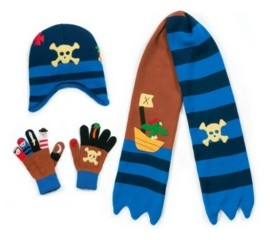 Kidorable Little and Big Boy Pirate Knitwear Set