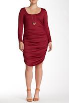 Rachel Pally White Label by Scoop Neck Jersey Knit Dress (Plus Size)