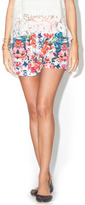 Josie Library Floral Shorts