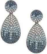 Nina Large 1/2 Teardrop Pave Earrings Earring