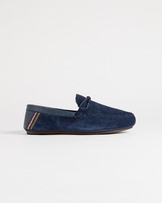 Ted Baker SEFFEL Moccasin leather slippers