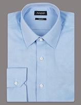 Autograph Pure Cotton Tailored Fit Textured Shirt